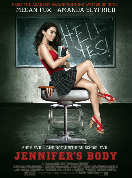 Jennifer's Body Theatrical Poster