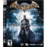 Batman: Arkham Asylum - Playstation 3 Cover Art