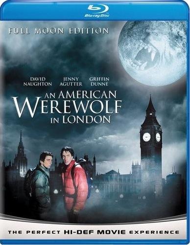 An Amerrican Werewolf in London Blu-ray Cover Art