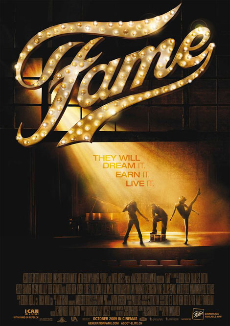 Fame Theatrical Poster