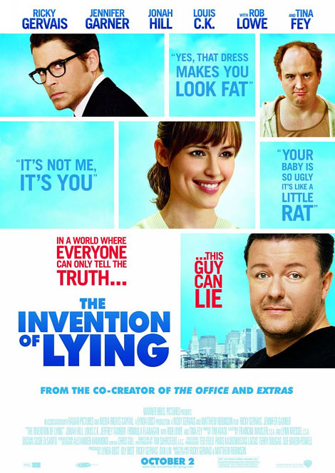 The Invention of Lying Theatrical Poster
