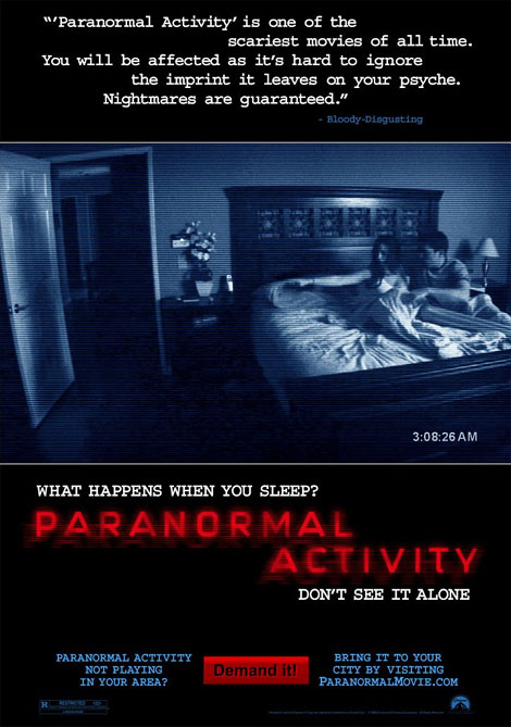 Paranormal Activity Theatrical Poster