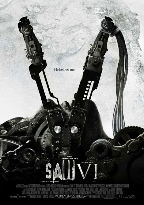 Saw VI Theatrical Poster