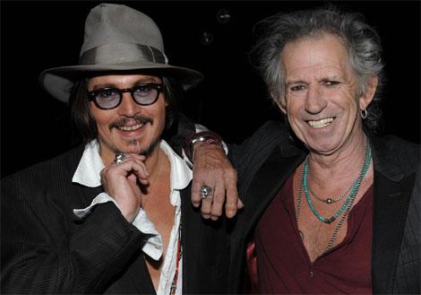 Scream 2009 - Johnny Depp & Keith Richards