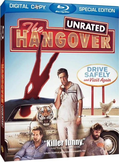 The Hangover Blu-ray Cover Art