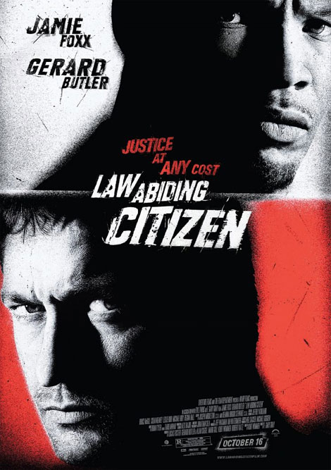Law Abiding Citizen Theatrical Poster