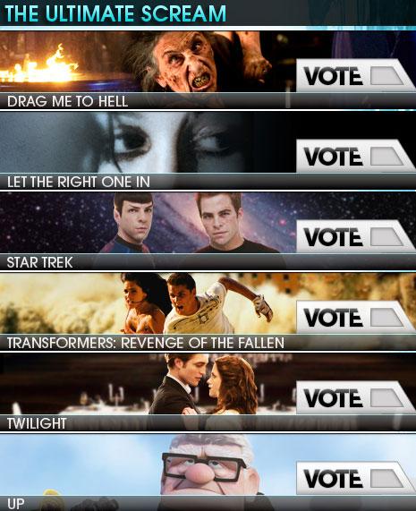 VOTE NOW! - Spike TV's Scream 2009 Awards Show