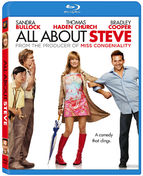 All About Steve Blu-ray Cover Art