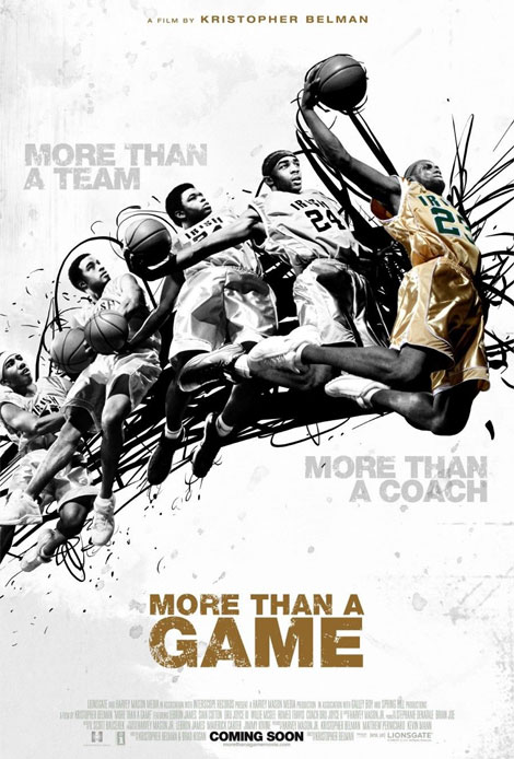 More Than A Game Theatrical Poster