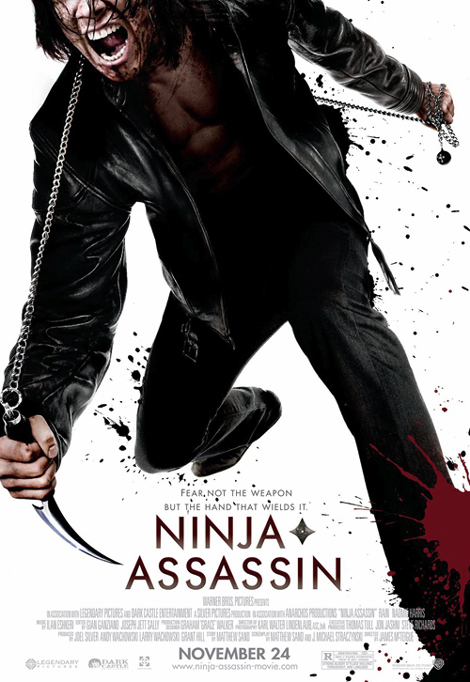 Ninja Assassin Theatrical Poster