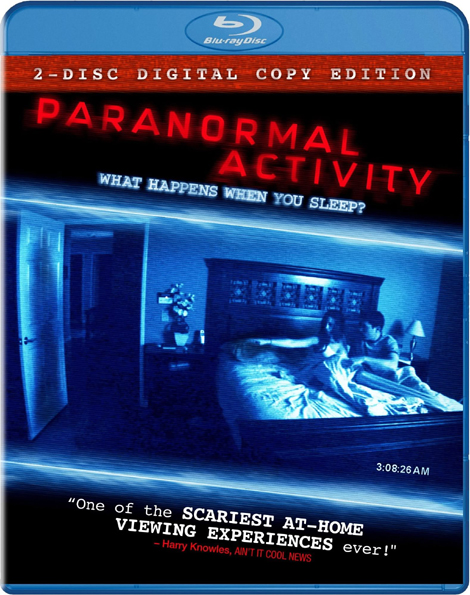Paranormal Activity Blu-ray Cover Art
