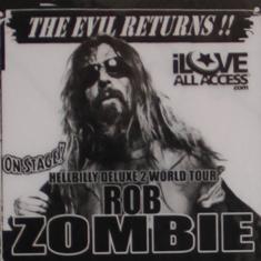 Rob Zombie Backstage Pass