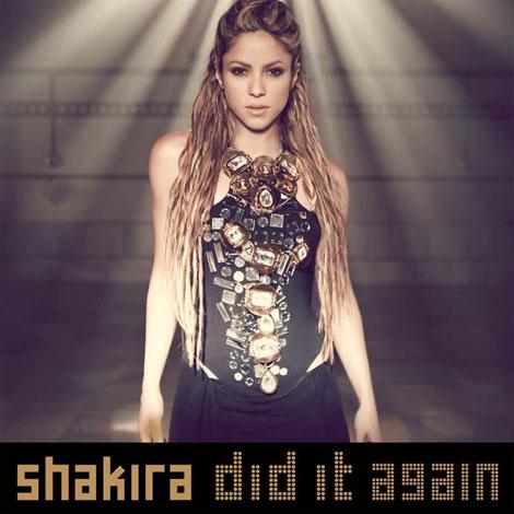 "Shakira's ""Did It Again"" CD Single Cover Art"