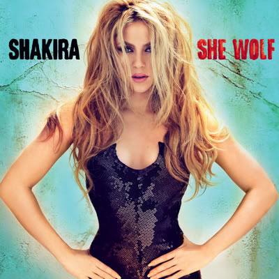 Shakira She Wolf Cover Art