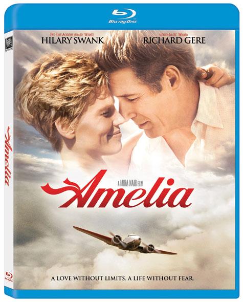 Amelia Blu-ray Cover Art