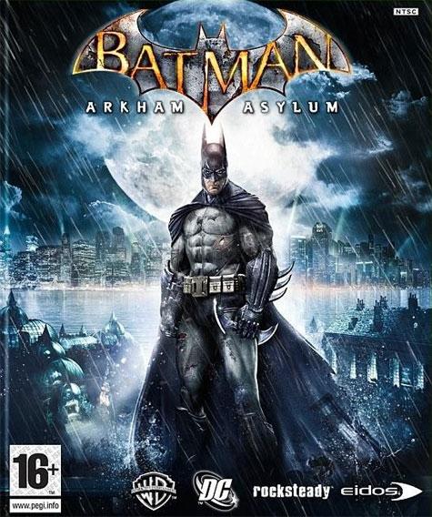 Batman: Arkham Asylum Cover Art
