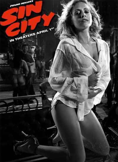 Brittany Murphy as Shellie in 2005's Sin City