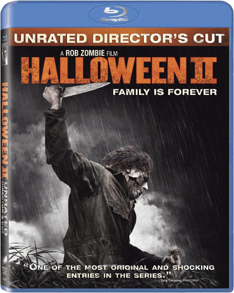 Rob Zombie's Halloween 2 Blu-ray Cover Art
