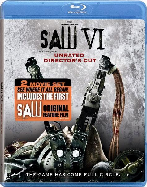 Saw VI Blu-ray Cover Art