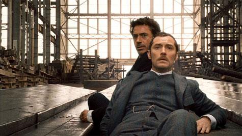 Robert & Jude in Sherlock Holmes