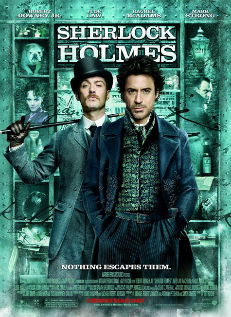 Sherlock Holmes Theatrical Poster