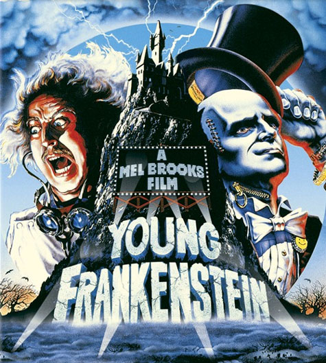 Young Frankenstein Blu-ray Cover Art