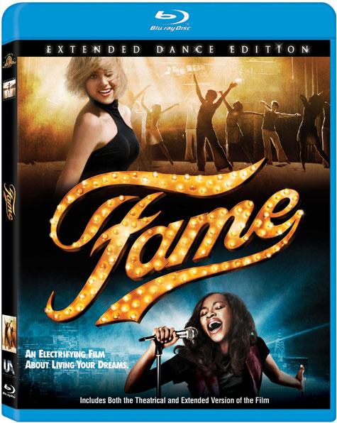 Fame Blu-ay Cover Art
