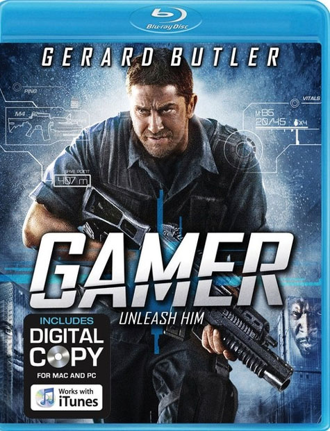 Gamer Blu-ray Cover Art