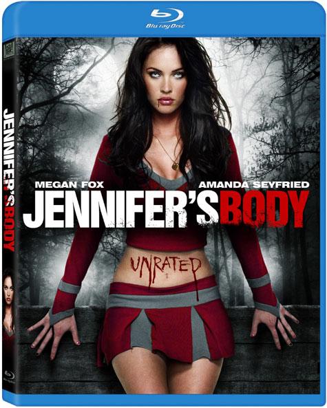 Jennifer's Body Blu-ray Cover Art