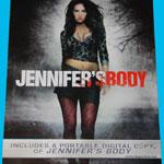 Jennifer's Body - Digital Copy Insert