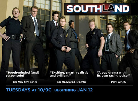 Tune in Tuesday, January 12th to TNT's Southland!