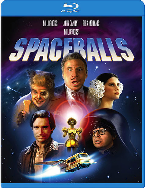 Spaceballs Blu-ray Cover Art