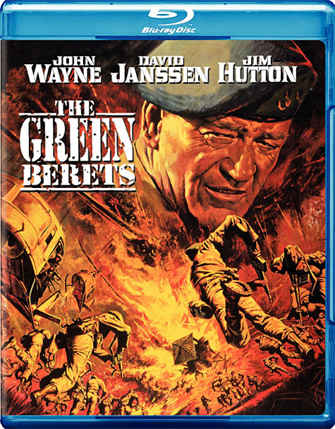 The Green Berets Blu-ray Cover Art