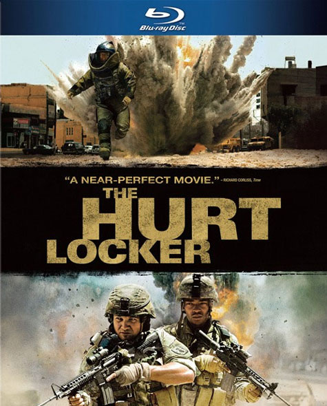 The Hurt Locker Blu-ray Cover Art