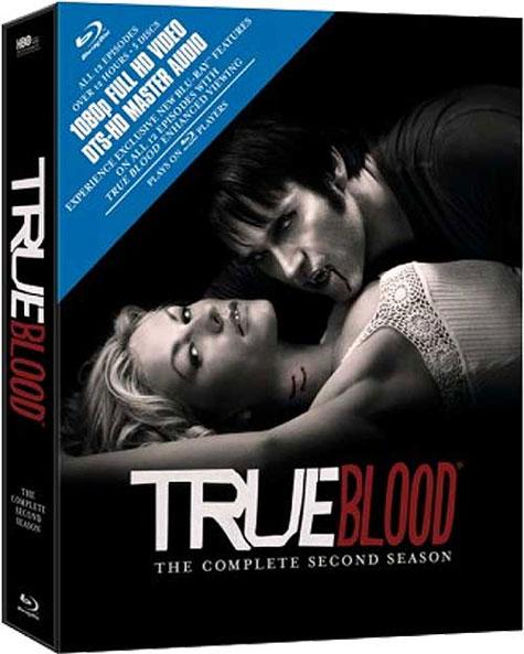 True Blood Season 2 Blu-ray Box Art