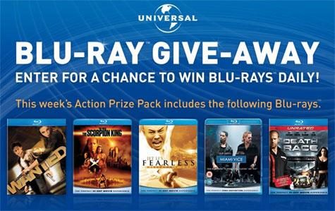 Universal's Blu-ray Give-Away!