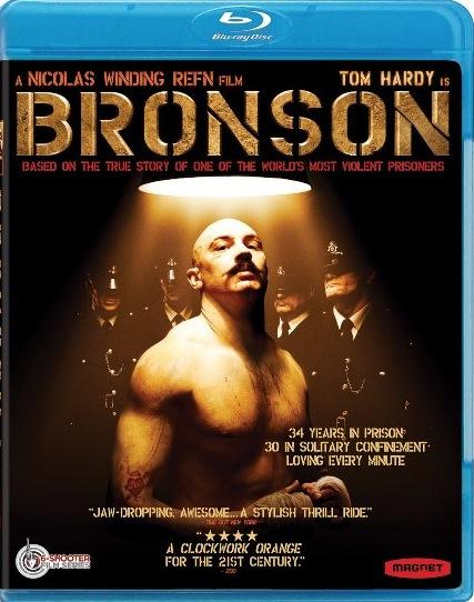 Bronson Blu-ray Cover Art