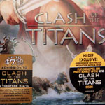 Clash of the Titans Front Blu-ray Cover (Sealed)
