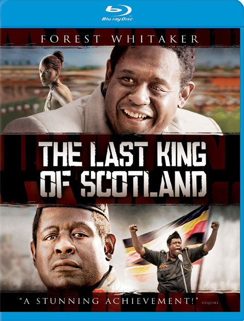 The Last King of Scotland Blu-ray Cover Art