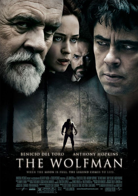 The Wolfman Theatrical Poster