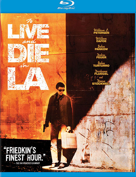 To Live and Die in LA Blu-ray Cover Art