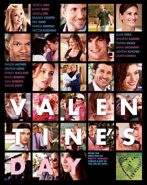 Valentine's Day Theatrical Poster