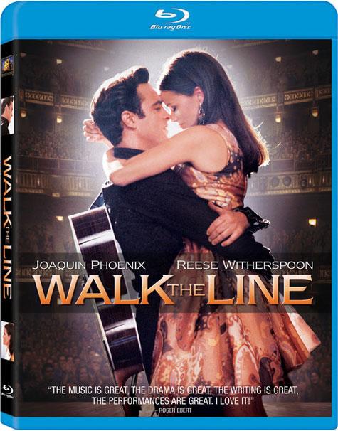 Walk The Line Blu-ray Cover Art