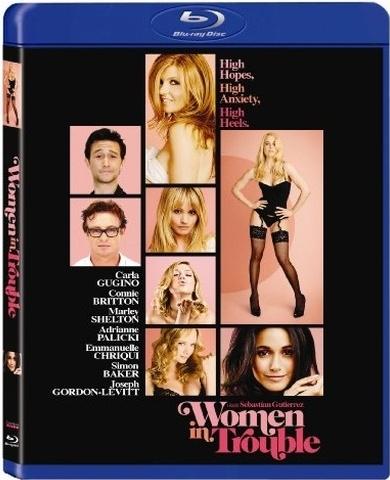 Women in Trouble Blu-ray Cover Art