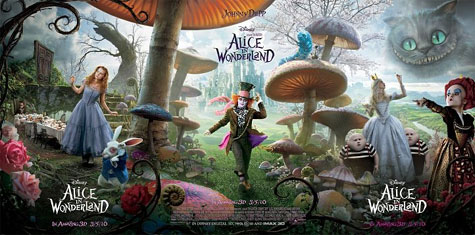 Alice in Wonderland Theatrical Poster