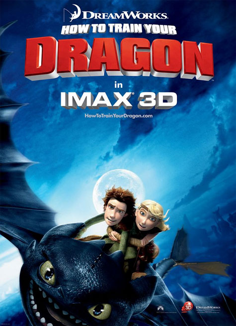 How To Train Your Dragon Theatrical Poster