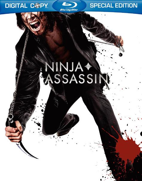 Ninja Assassin Blu-ray Cover Art
