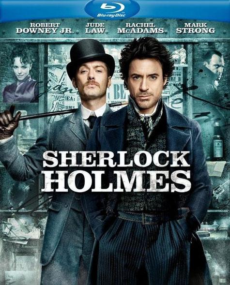 Sherlock Holmes Blu-ray Cover Art