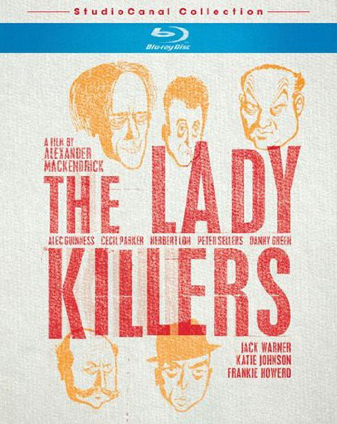 The Ladykillers Blu-ray Cover Art