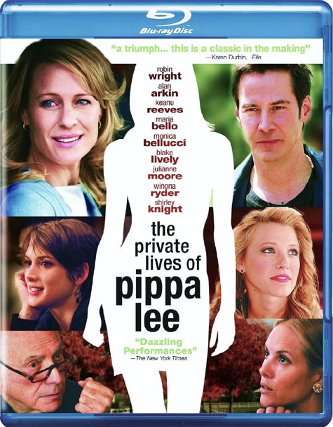 The Private Lives of Pippa Lee Blu-ray Cover Art